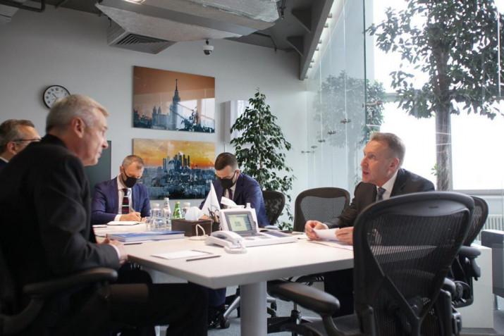 Сергей Носов и Игорь Шувалов обсудили перспективные планы развития Магаданской области
