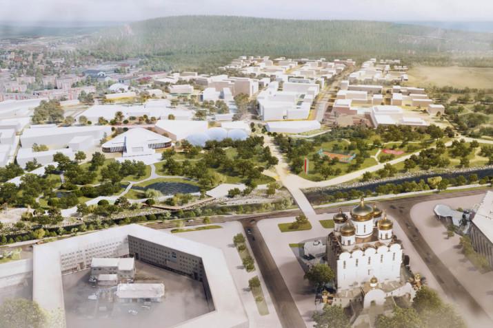 В Магаданской области выберут подрядчика для реализации проекта по комплексной застройке Горохового поля