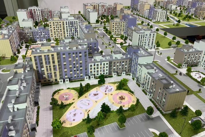Магаданцам представили образцы новых квартир в будущем жилом квартале «Гороховое поле»