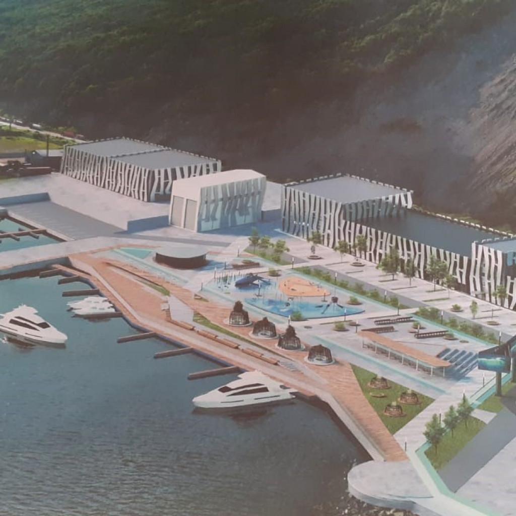 Создание яхтенной марины, центра обслуживания маломерных судов в границах причалов портофлота б. Нагаева.