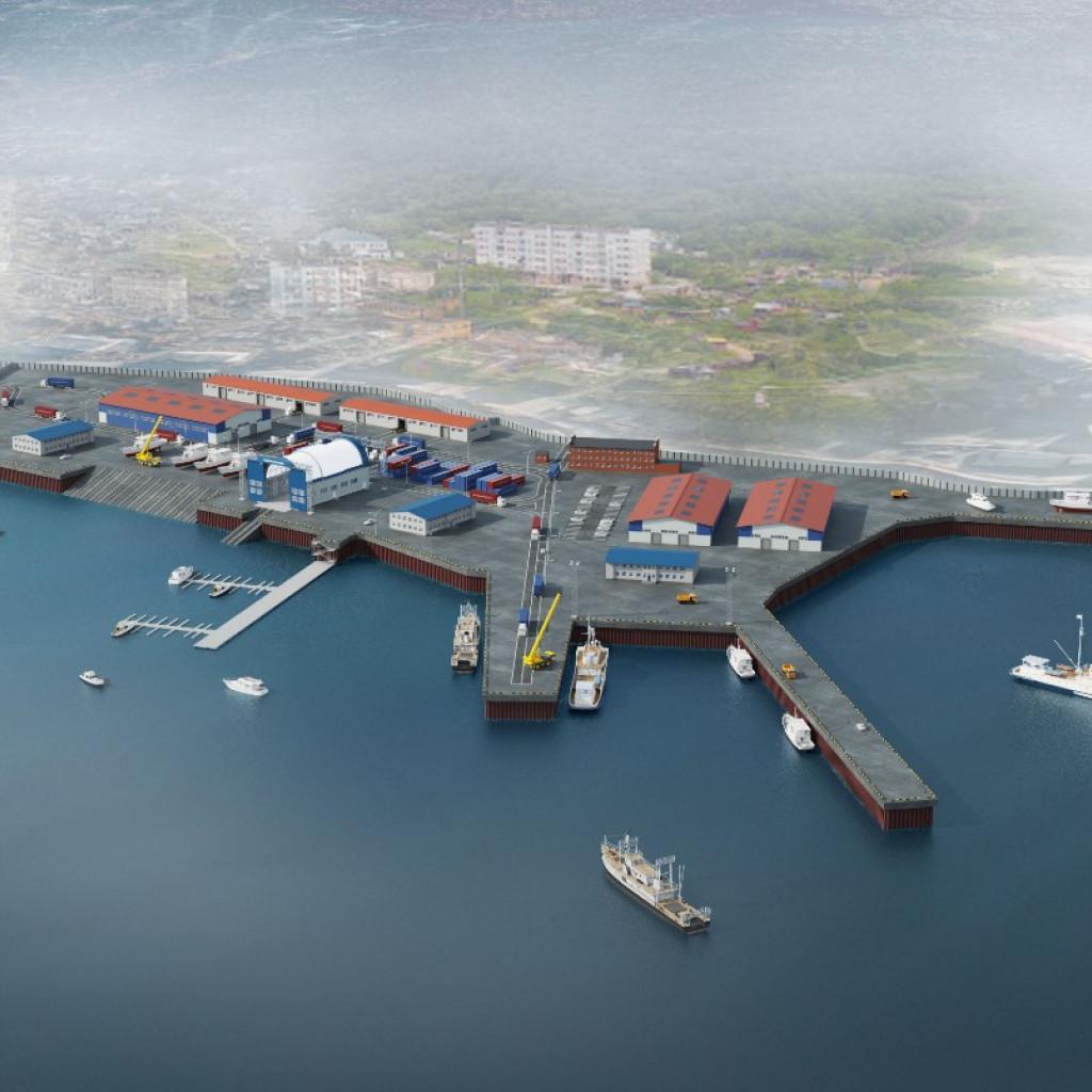 Индустриальный парк «Рыбный порт Магадан»
